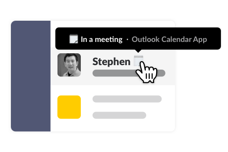 Outlook Calendar example