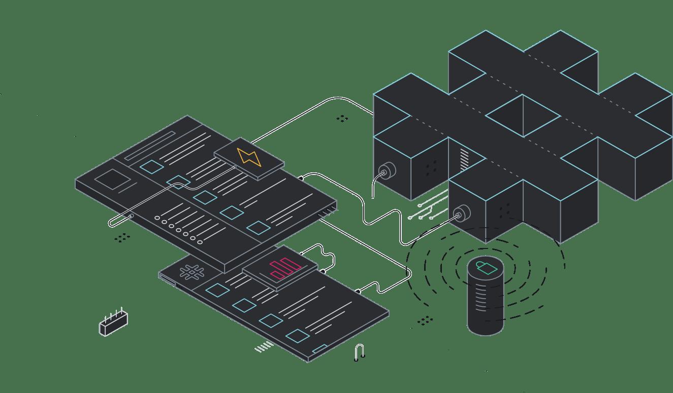 Les organisations de taille importante ont besoin d'un outil de communication puissant et versatile. Enterprise Grid, c'est toutes les fonctionnalités de Slack mises au service des grands groupes.