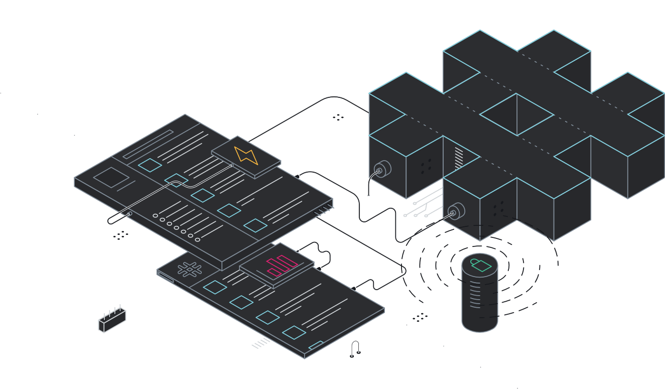 Enterprise Grid により、大規模で複雑な組織でも Slack の機能と有用性をそのまま活用いただけるようになりました。