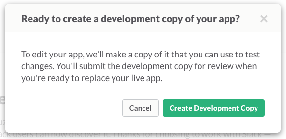 Your app, self-replicating