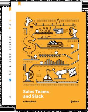 Thumbnail of Sales Teams and Slack book