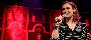 Jess Salomon at Cous Cous Comedy