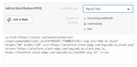 Using ngrok to develop locally for Slack | Slack