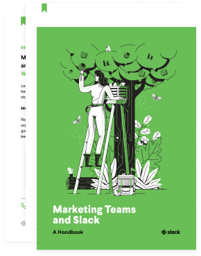 Thumbnail of Marketing Teams and Slack book