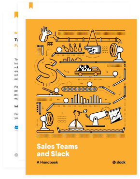 Thumbnail of Sales Teams and Slack book