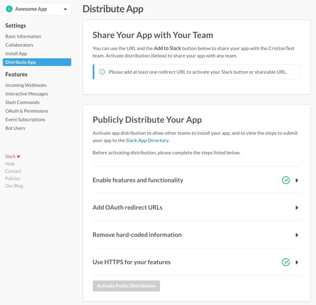 Managing Slack apps | Slack
