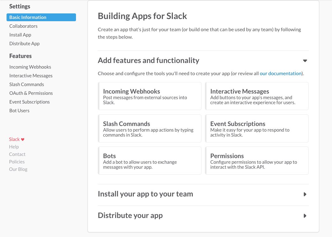 Managing Slack apps | Slack