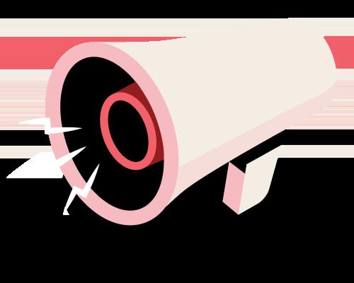 Un megáfono