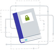 Illustration of a security whitepaper book