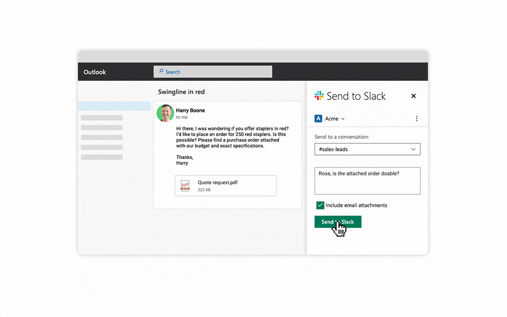 Office 365 for Slack | Slack App Directory