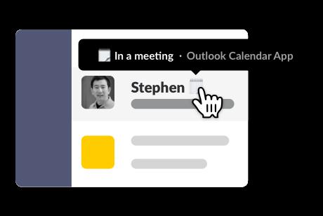 Outlook Calendar App | Slack