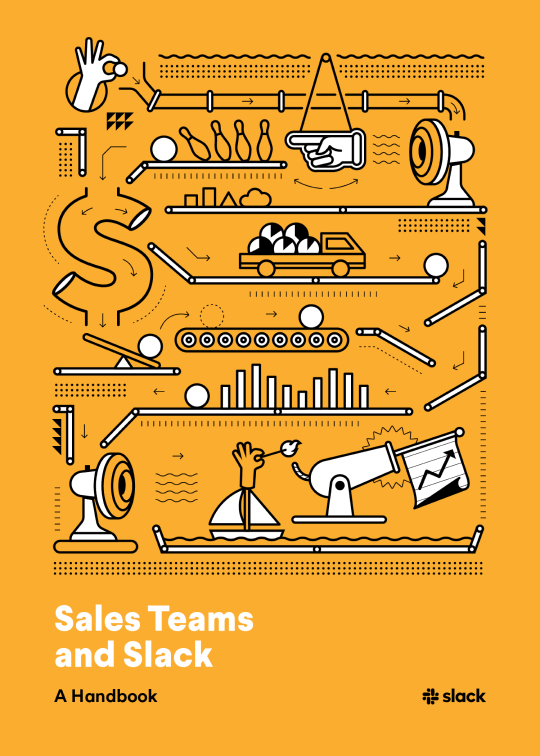 Book cover for Sales Teams and Slack: A Handbook