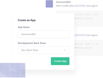 An illustration demonstrating how you can start to create your own app specifically for your team.