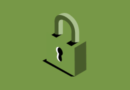 Illustration of a locked lock.