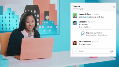 See how work gets done in Slack