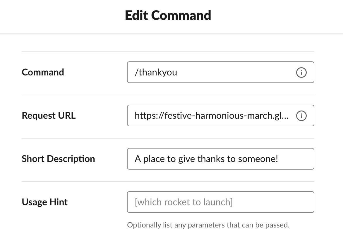 slash command details