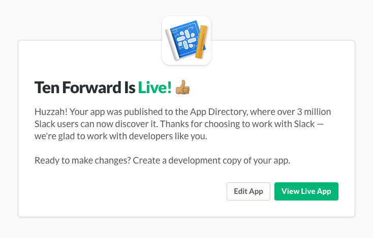 Submitting apps to the Slack App Directory | Slack